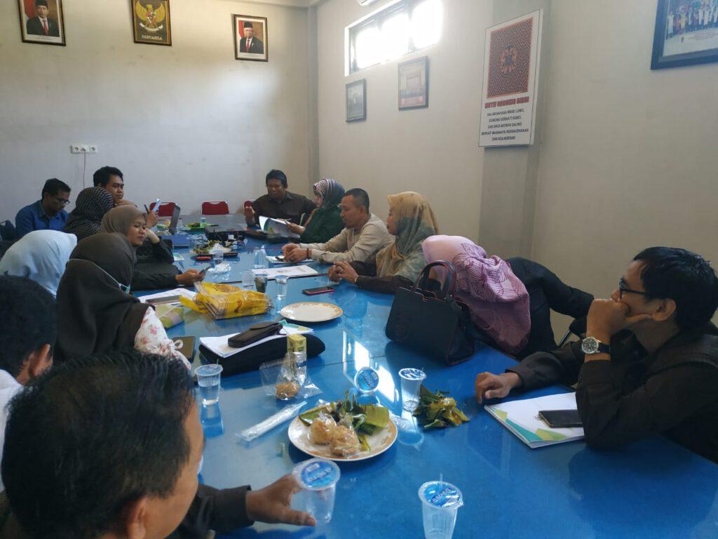 Rapat Pedoman Penyusan Tugas Akhir